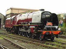 Duchess of Hamilton loco