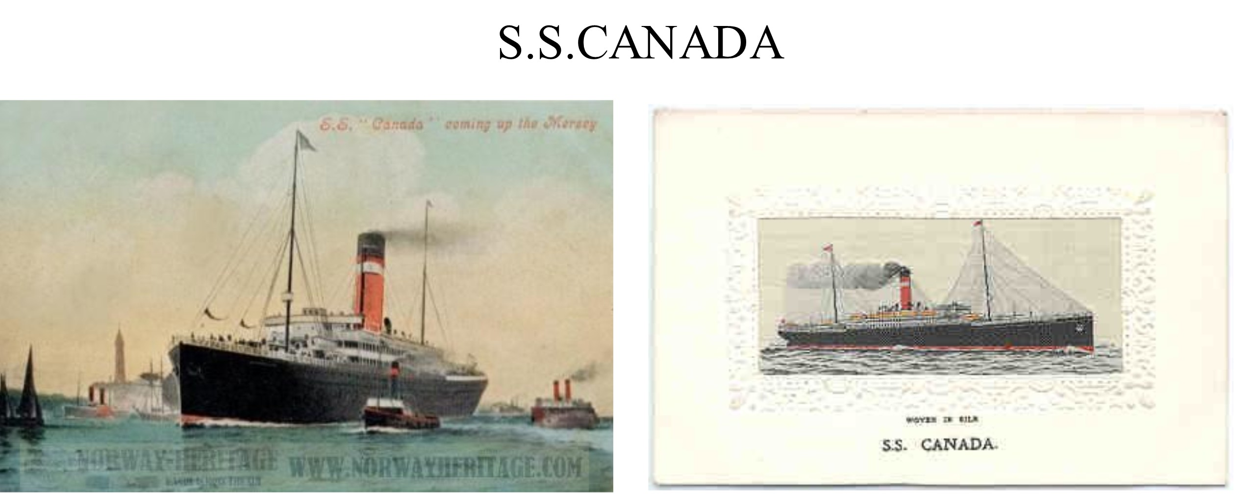 SS Canada pictures